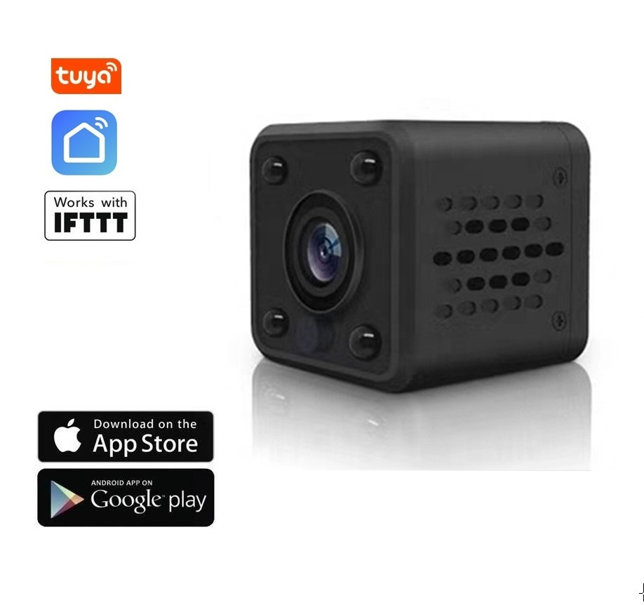 2.0 Mpx WiFi mini IP kamera FULL HD 1080P - TUYA, Android/iOS