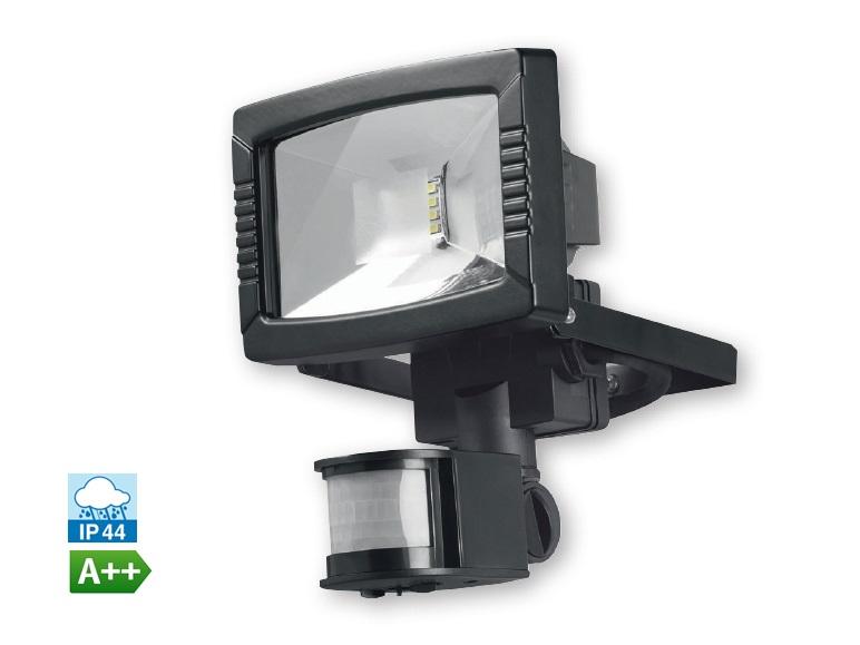 Venkovní LED reflektor s detektorem pohybu PIR, 8,5 W Model: HG00108A