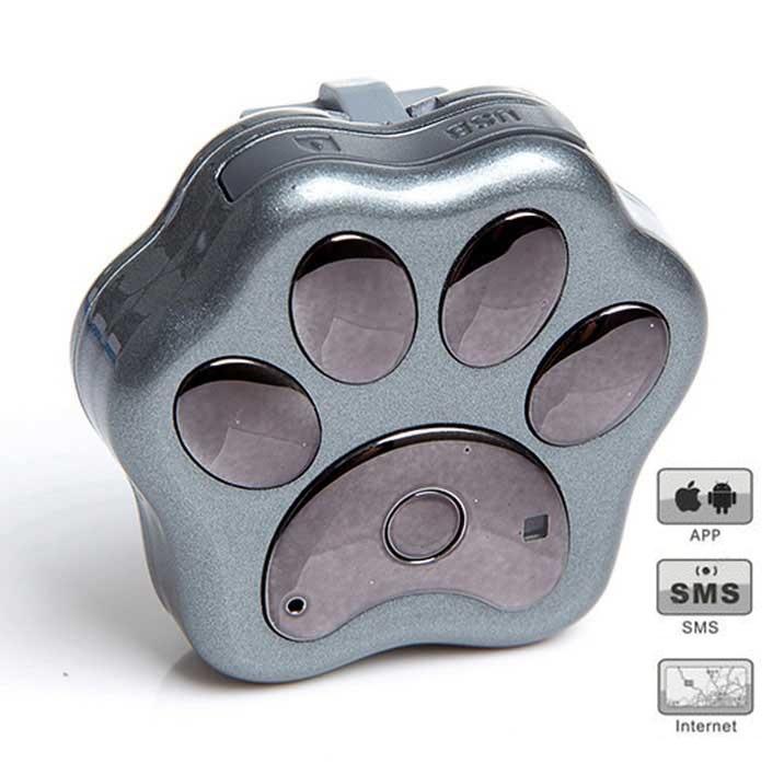 SMART RF-V30 GPS lokátor pro psy a kočky Model: RF-V30/silver