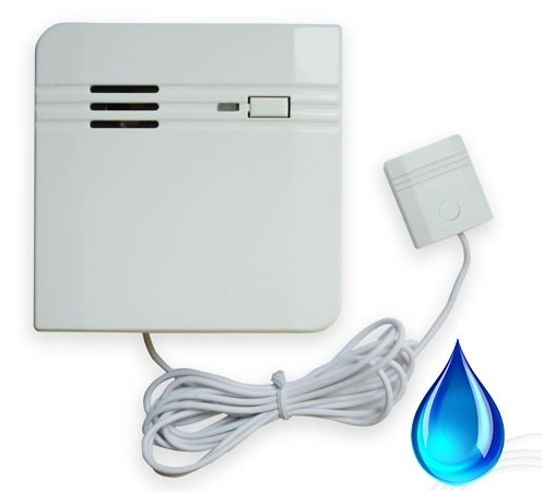 Bezdrátový záplavový detektor pro alarm, GSM alarm Model: AS-BZD01