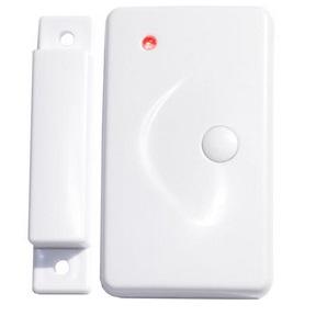 Bezdrátový magnetický detektor s tísňovým tlačítkem pro alarm, GSM alarm Model: GS-IWDS01