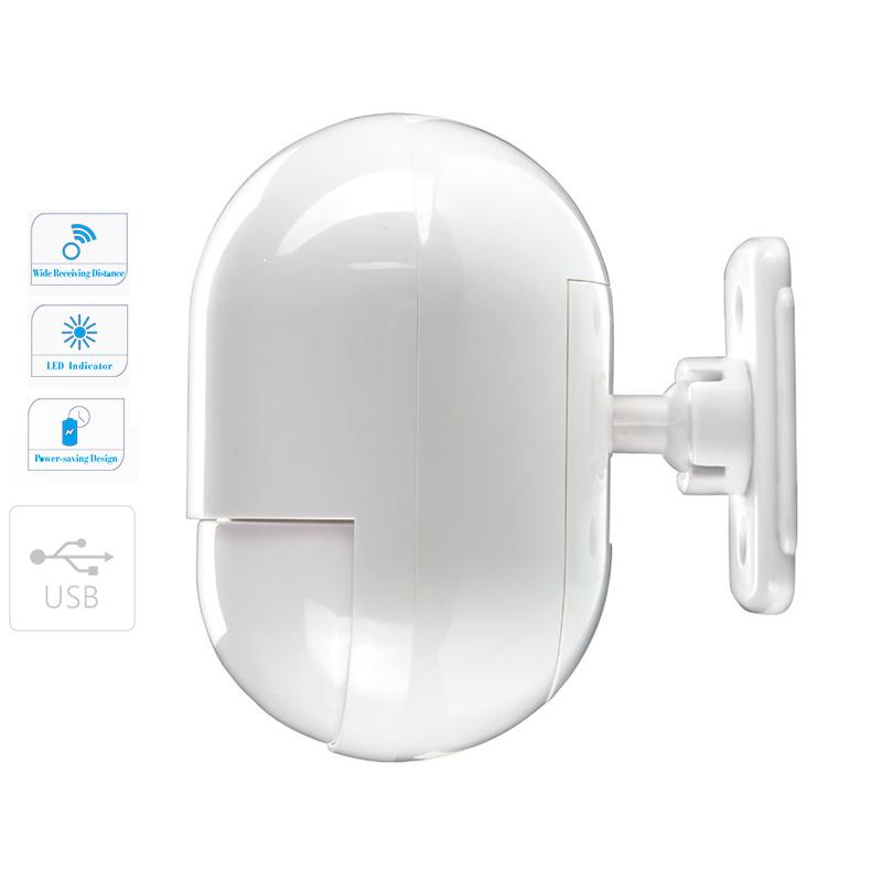 Bezdrátový inteligentní PIR detektor pohybu pro alarm, GSM alarm Model: AS-P829