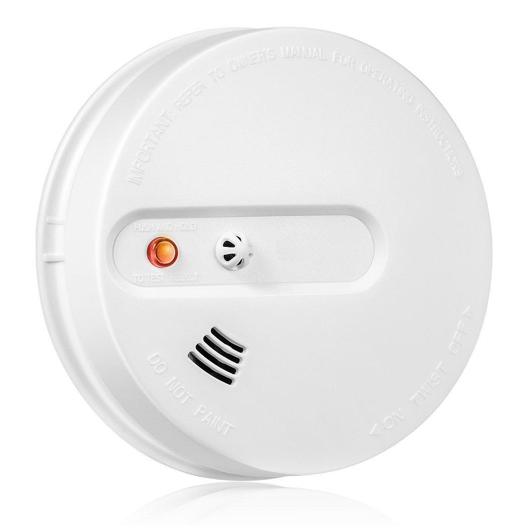 Bezdrátový kombinovaný detektor kouře a teploty pro alarm, GSM alarm Model: AS-WY300