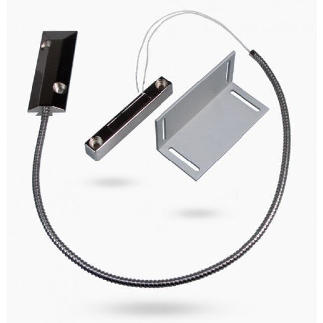 Masivní drátový magnetický kontakt na kovová vrata pro alarm, GSM alarm Model: AS-MC51L